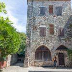 maison du centre ville historique de cajarc dans le Lot
