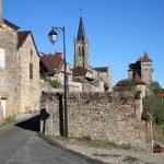 village perché de Faycelles dans le Lot